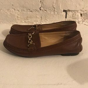 Marc Fisher Leather Loafer Flats- 6.5